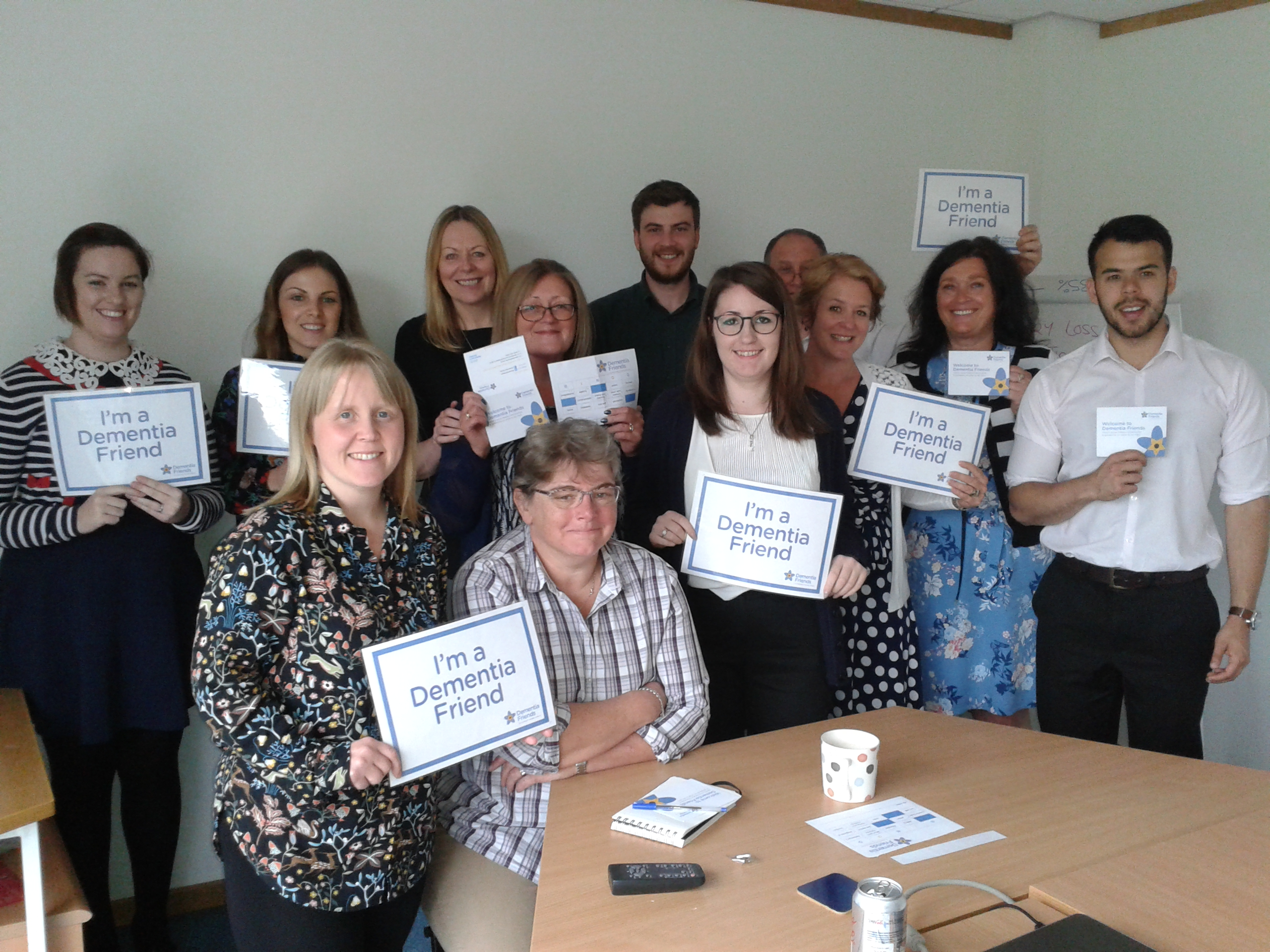 Make a difference and become a Dementia Friend