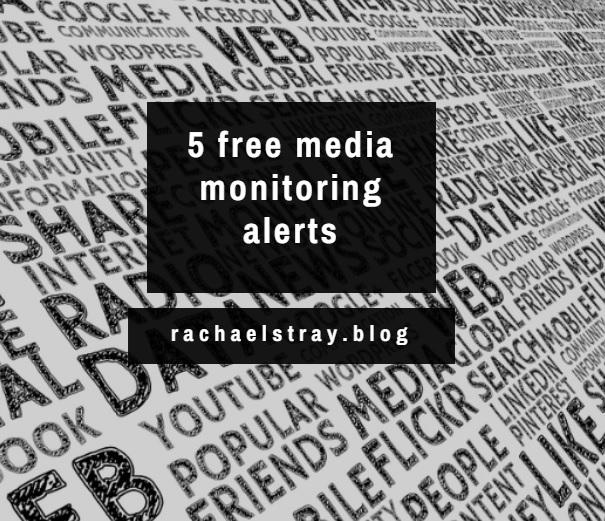5 free media monitoring alerts