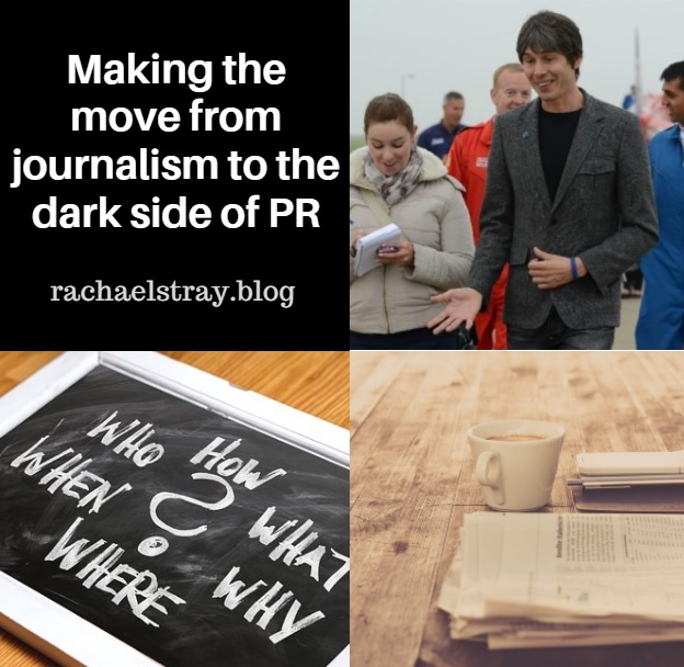 Making the move from journalism to the dark side of PR
