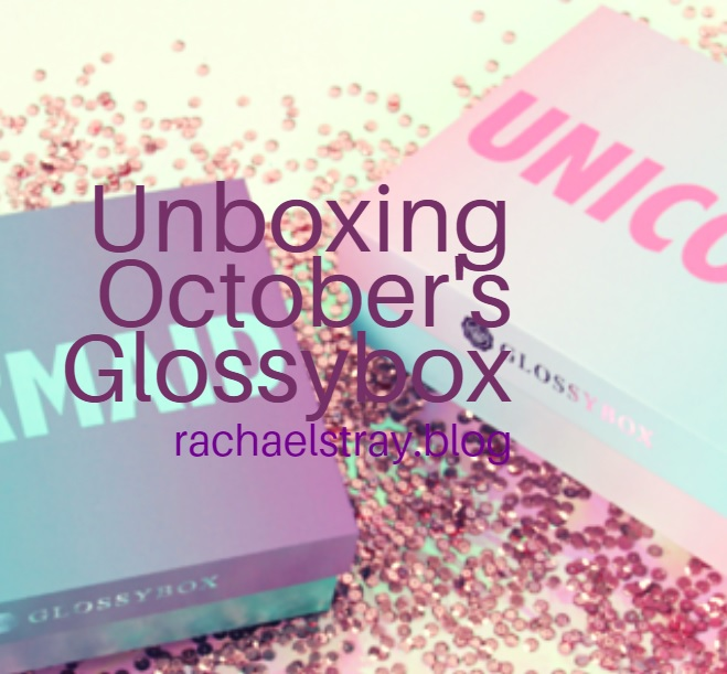 Unboxing October's Glossybox