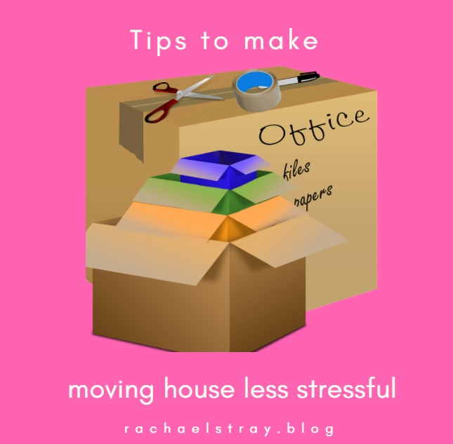 Tips to help make moving house less stressful
