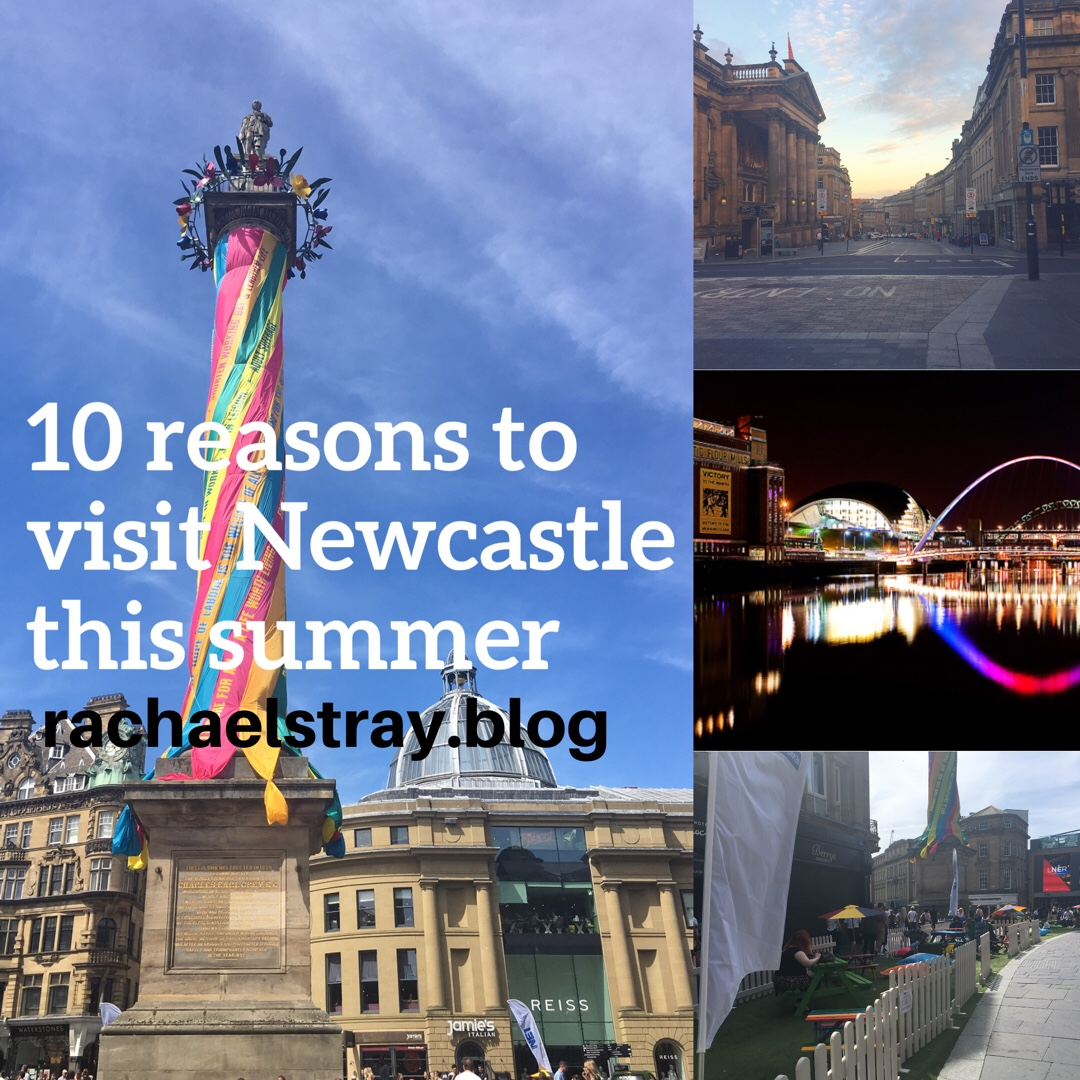 10 reasons to visit Newcastle (and Gateshead) this summer