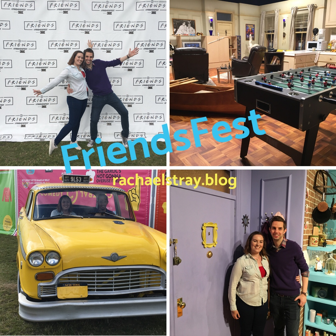 Fun fan experience at FriendsFest