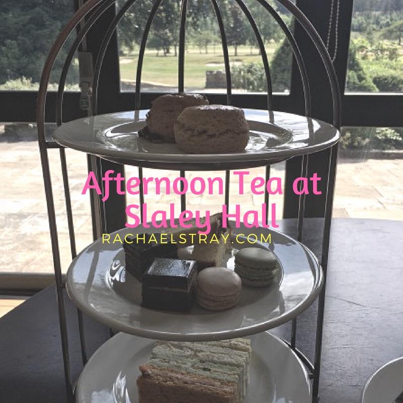 Afternoon tea at Slaley Hall Northumberland