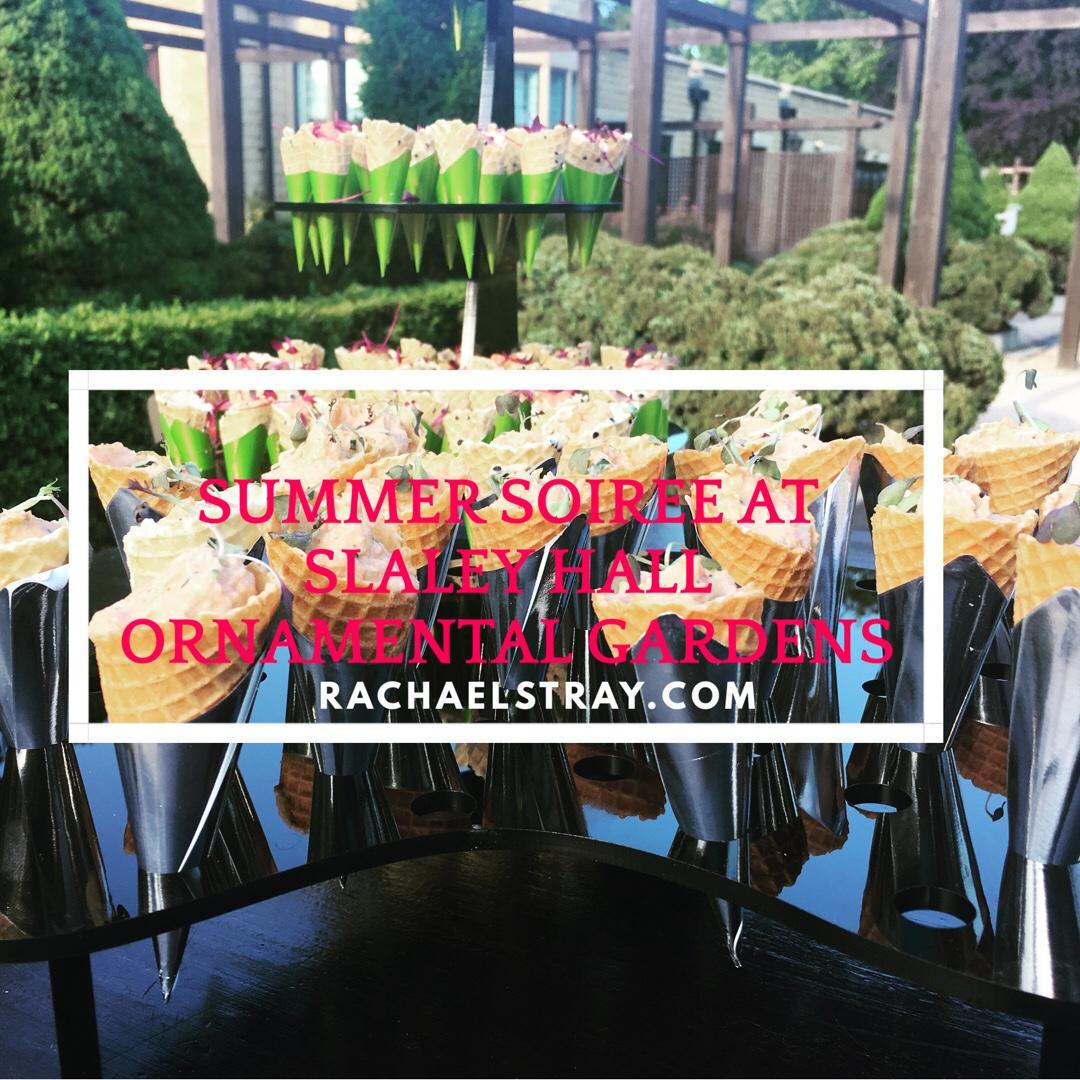 Summer soirée at Slaley Hall ornamental gardens (AD)