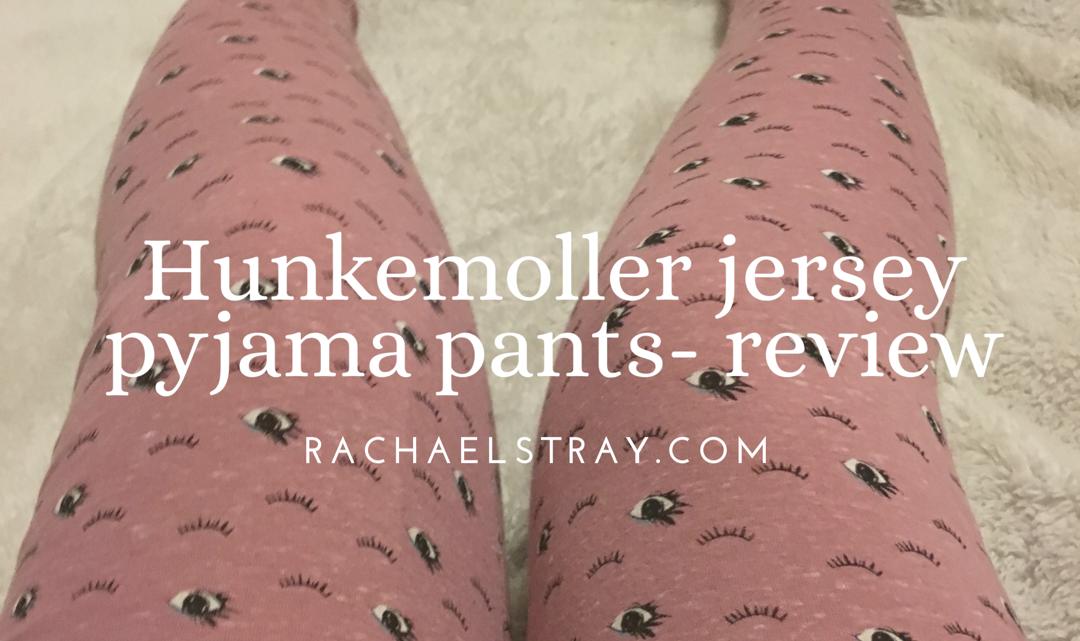 Hunkemoller jersey pyjama pants – review (AD)