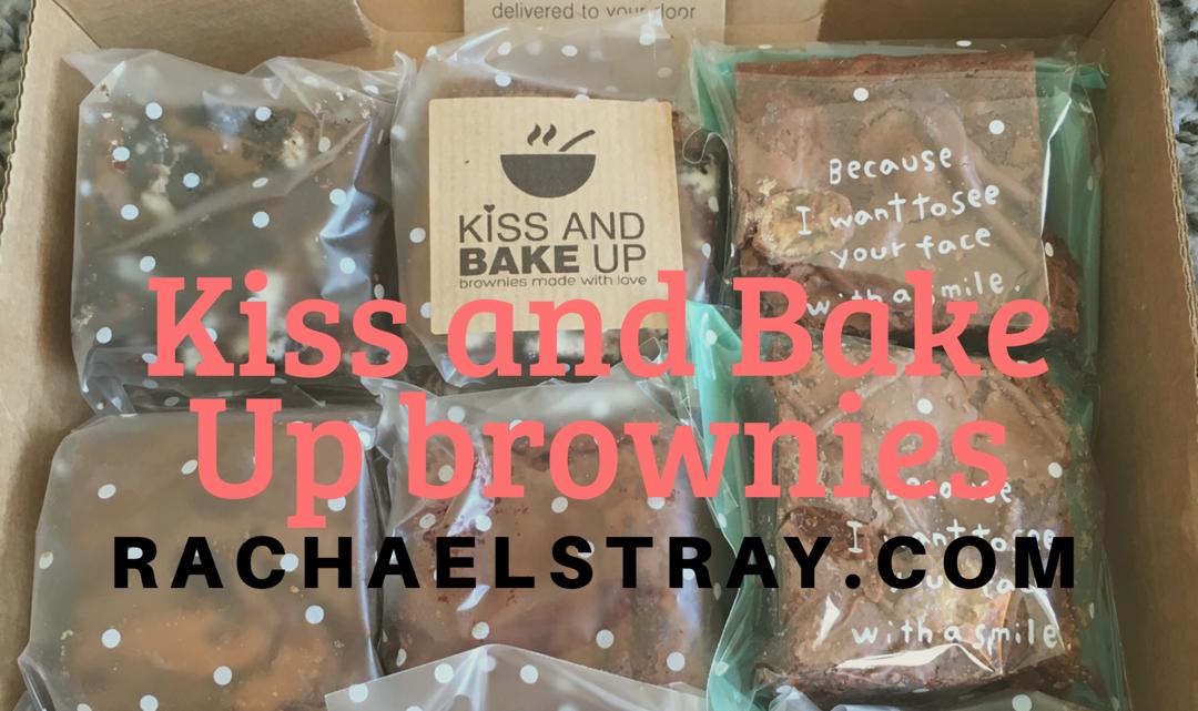Kiss and Bake Up brownies (AD)
