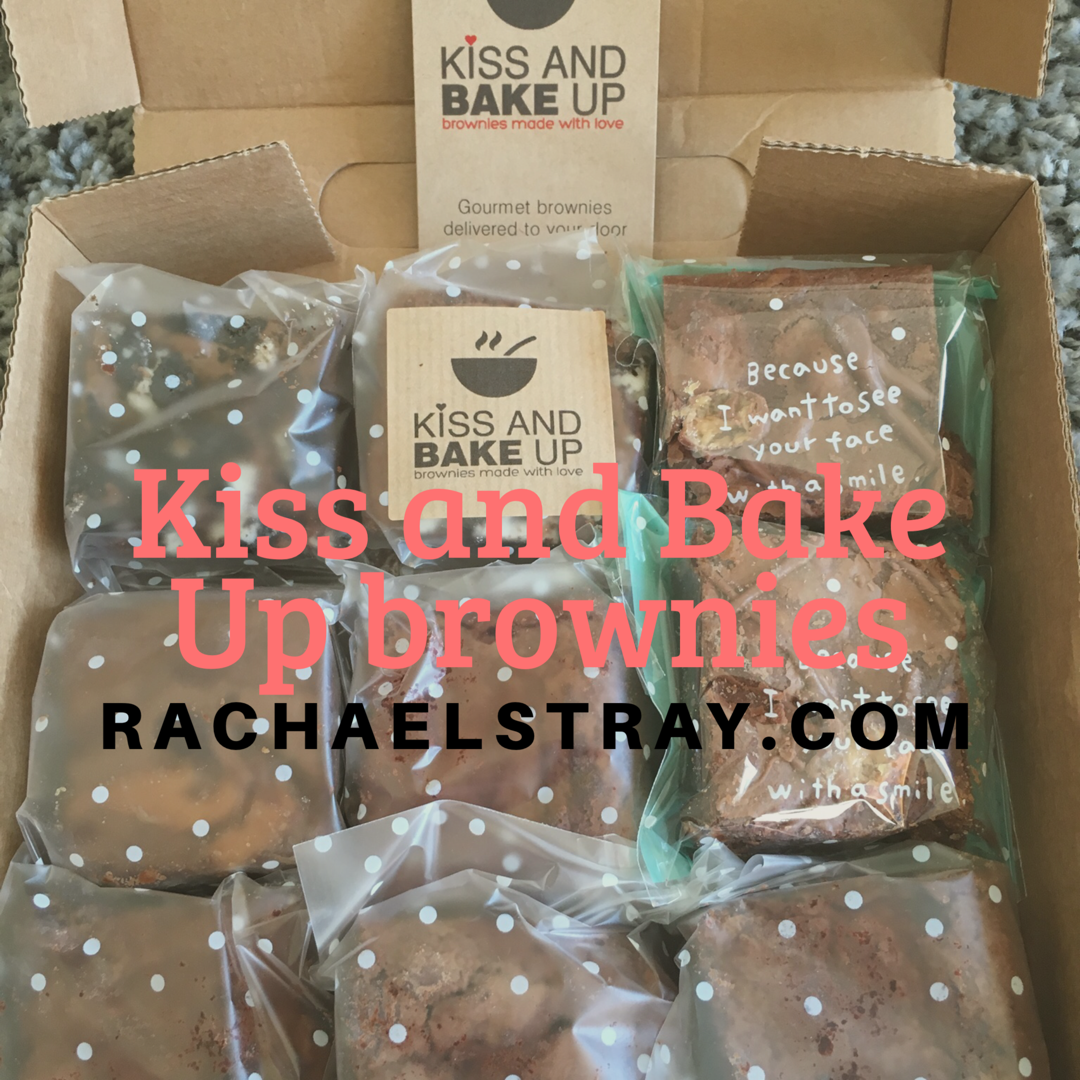 Kiss and Bake Up brownies - Rachael's Thoughts