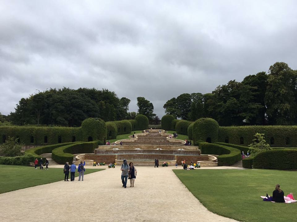 The fountain at Alnwick Gardens